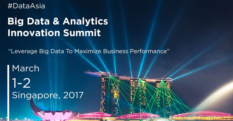 Big data Analytics summit singapore