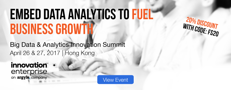 BIG DATA & ANALYTICS INNOVATION SUMMIT HONGKONG