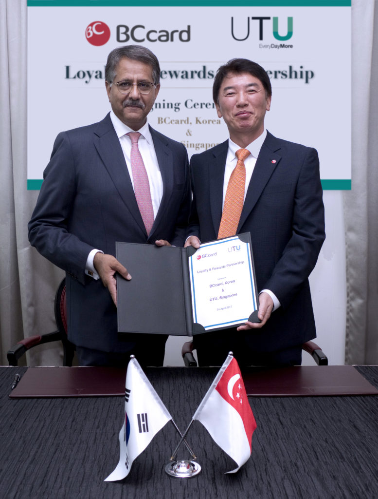 BC Card Signs Agreement with UTU to Bring Cross-Border Rewards to South Korea
