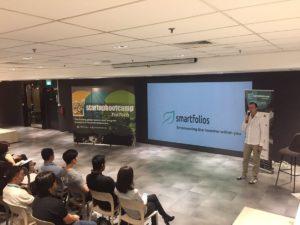 smartfolios at Startupbootcamp Fintech Singapore