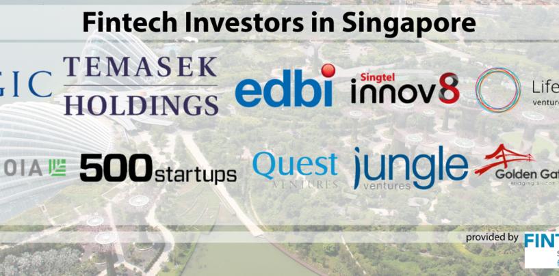 Fintech Investors in Singapore
