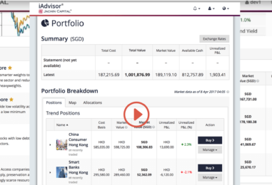 "Jachin Capital To Offer iAdvisor, its ""Live"" Online Investing Platform in Singapore"
