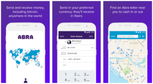 Abra mobile app