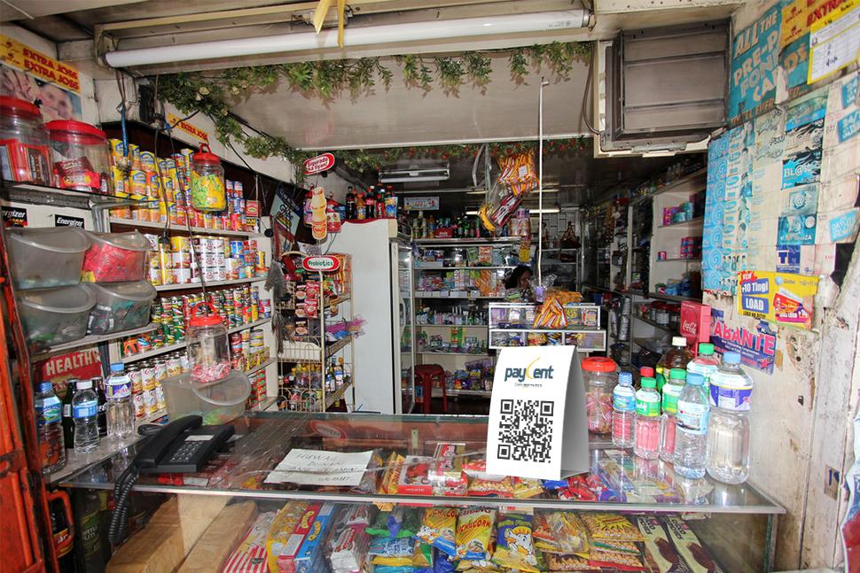 Paycent-QR-Code merchant app