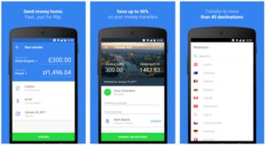 TransferGo mobile app