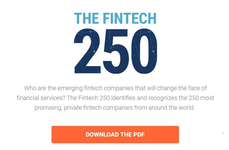 the fintech 250 list