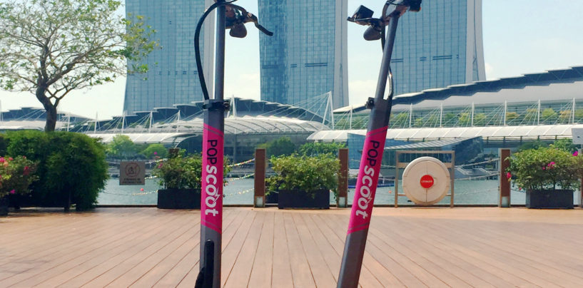 An E-Scooter Sharing Platform for Singapore