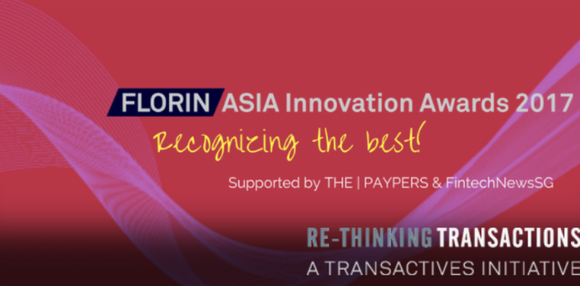 2017 Florin Asia Innovation Awards Winners: TenX, Paycent and Omise