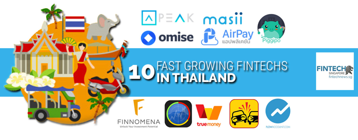10 Fast Growing Fintechs in Thailand