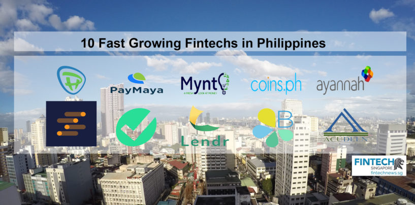 10 Fast Growing Fintechs in Philippines