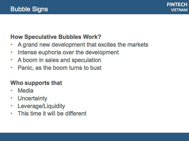 ICO meetup bubble signs