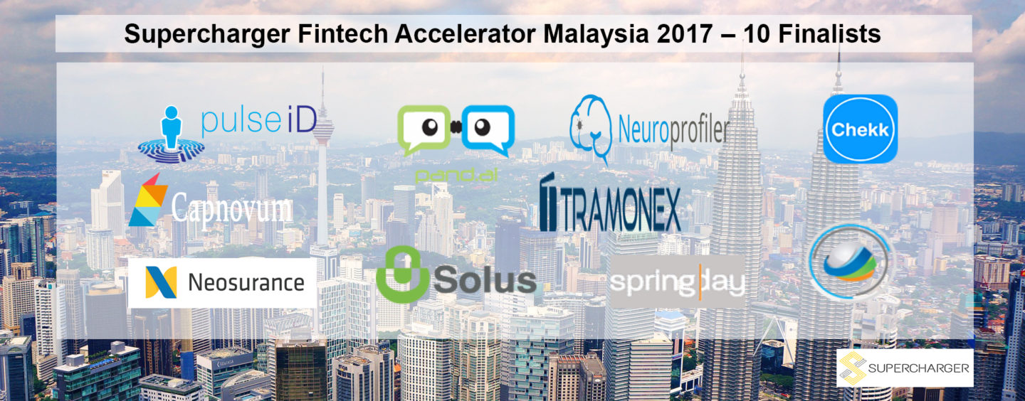 Supercharger Fintech Accelerator Malaysia Unveils 10 Finalists