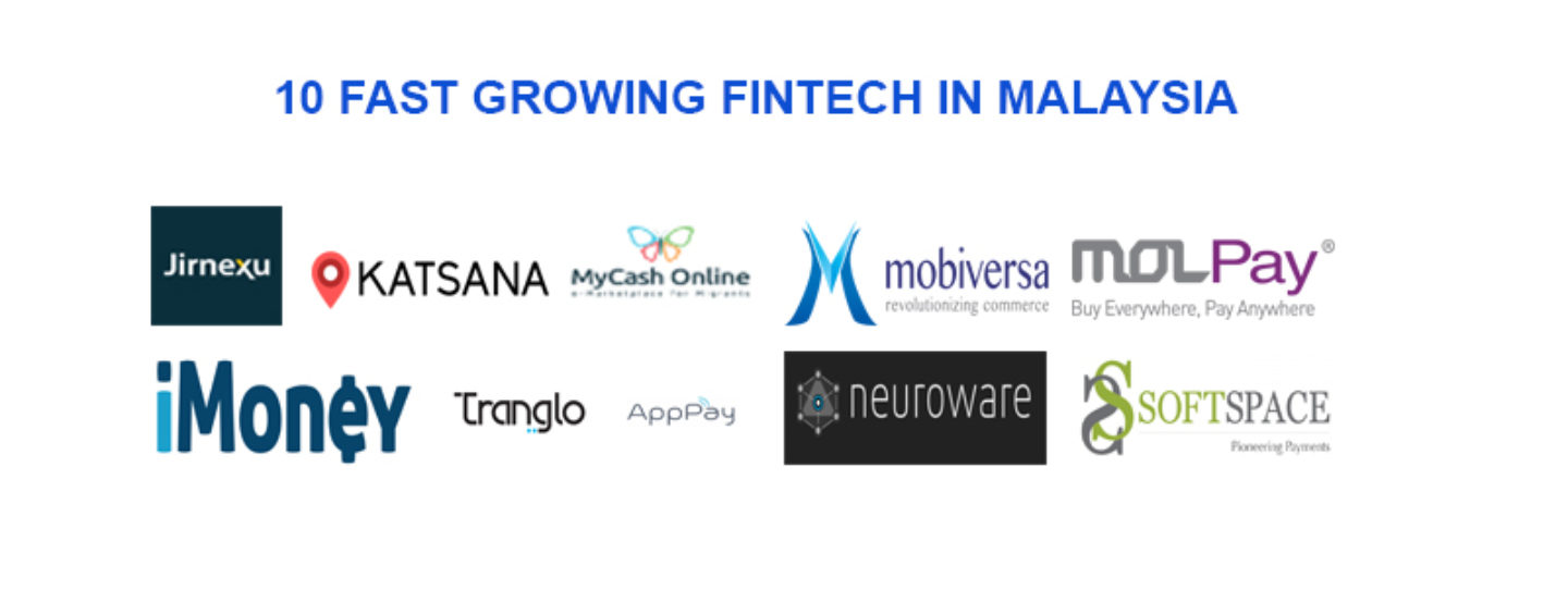 10 Fast Growing Fintech for Malaysia