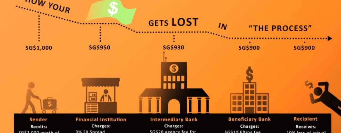 Remittance Infographic: The Demystifying the Cross Border Ecosystem