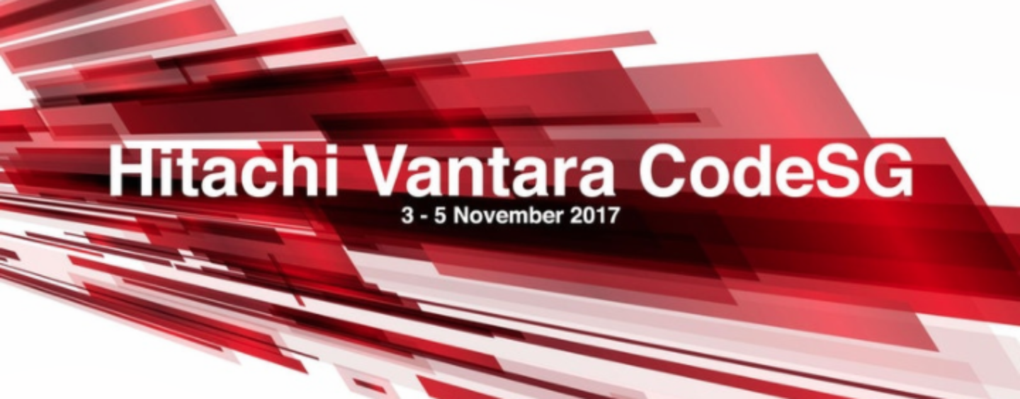 Hitachi Vantara Singapore Launches Its First Fintech Codeathon