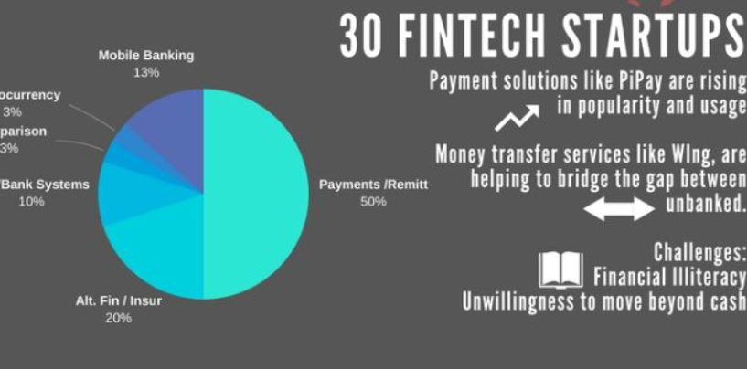 Cambodia Fintech Startup Report, Fintech Startup Map and Infographic