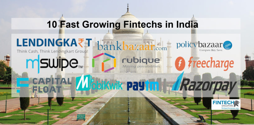 10 Fast Growing Fintechs in India