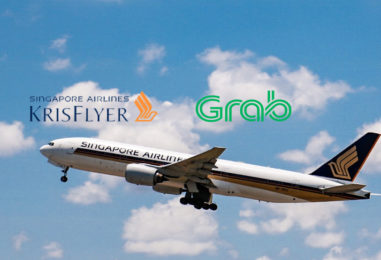 Grab Goes Live With Grabrewards Conversion To Krisflyer Miles: (Travel-Fintegration)
