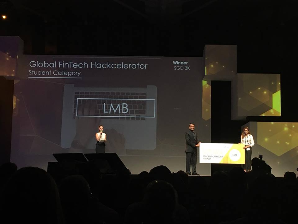 Global FinTech Hackcelerator Winner - LMB