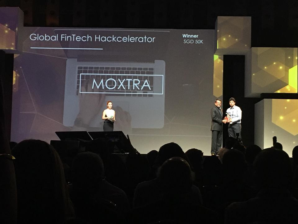 Global FinTech Hackcelerator Winner -Moxtra