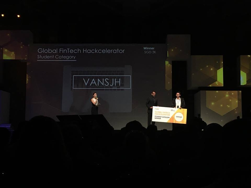 Global FinTech Hackcelerator Winner - Vansjh