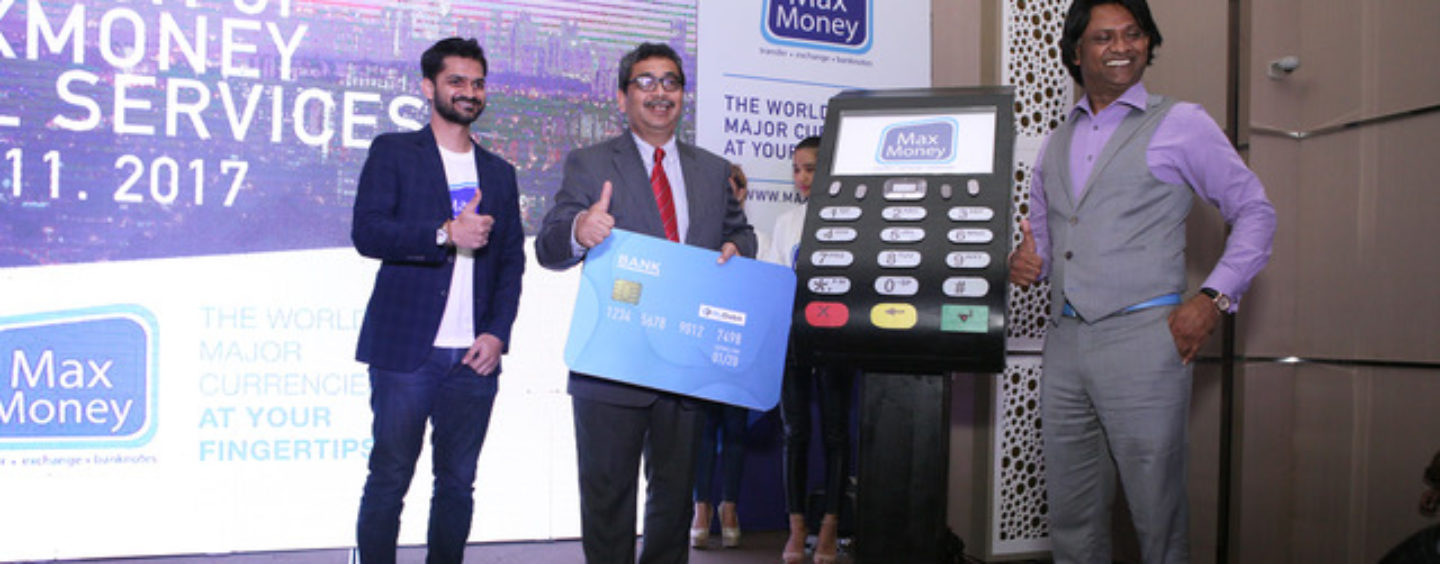 Max Money's Revolutionary new Service will Change Remittance as we know it