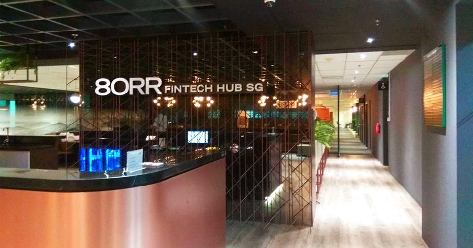 80RR fintech hub Singapore