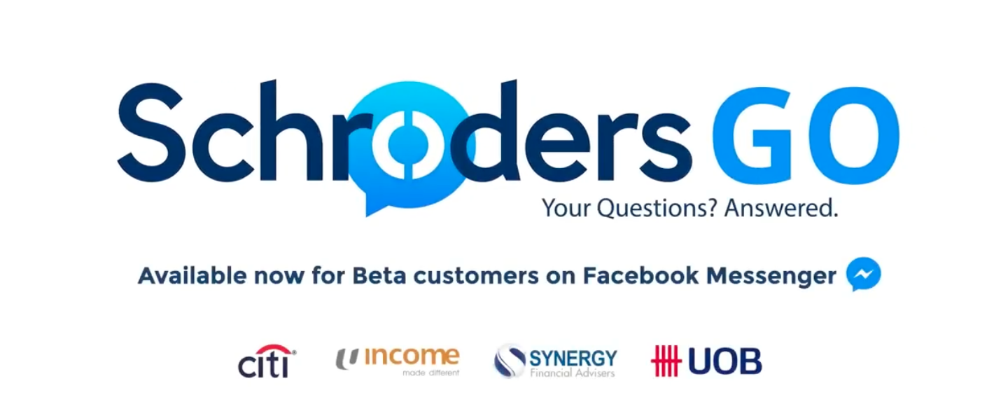 "Schroders Singapore pioneers with Asia's ""First"" Asset Manager Facebook Chatbot"