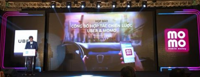 Uber signs first Southeast Asian e-wallet deal with Vietnam's MoMo MoMo