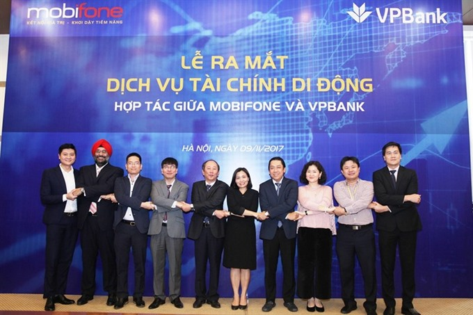 VPBank and MobiFone introduce mobile financial products