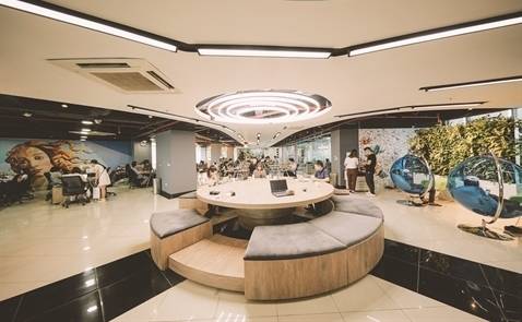 Co-working spaces becoming more popular in Vietnam
