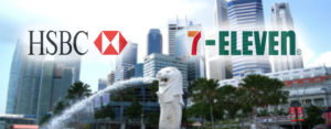 HSBC Partners 7-Eleven to Expand Cash Access Network to 800 Touchpoints Island-wide