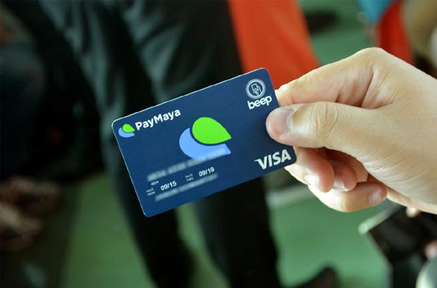 Paymaya beep card