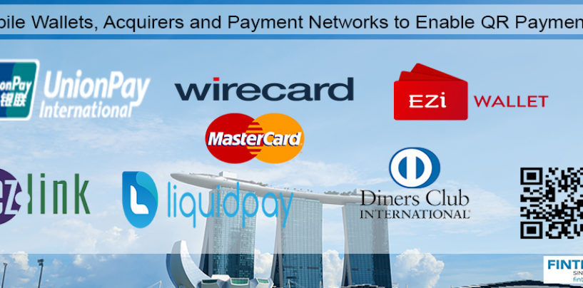 Mobile Wallets, Acquirers and Payment Networks Collaborate to Enable QR Payments in Singapore
