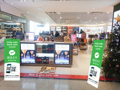 VIMO to provide Wechat payment at Airport outlets