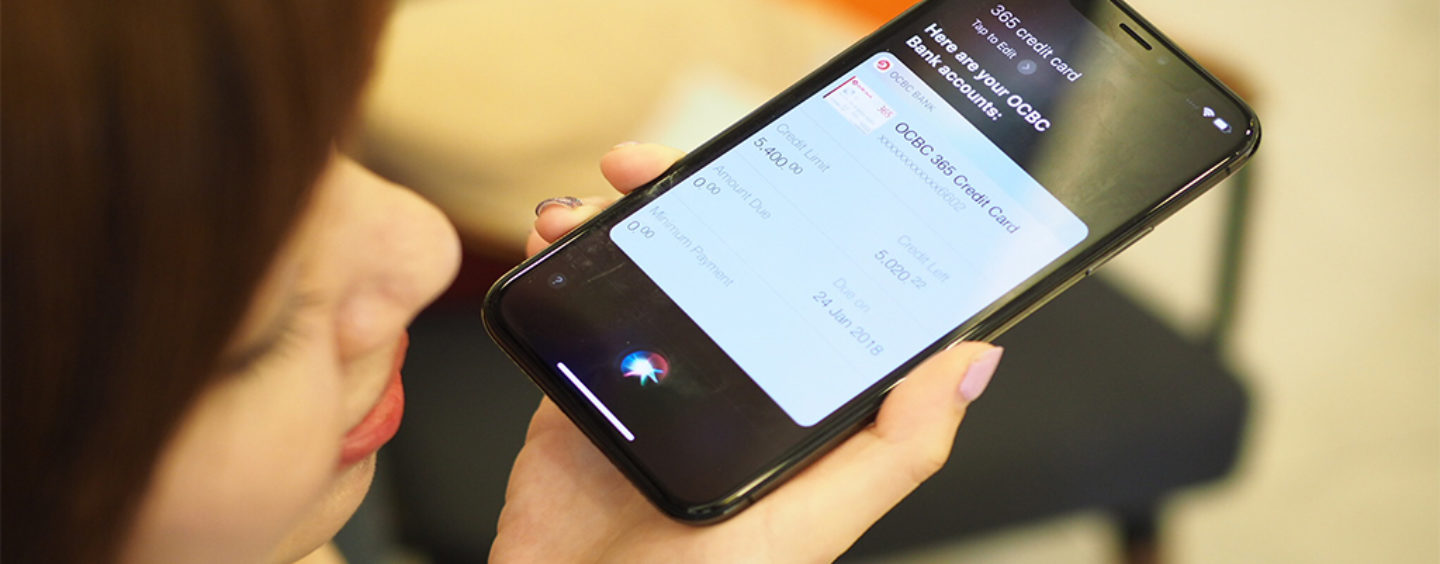 OCBC Bank Singapore to Launch Siri Voice-Powered Conversational Banking