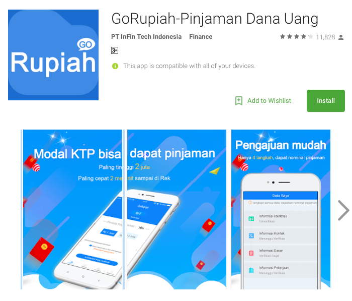 Fintech Loan Indonesia - GoRupiah
