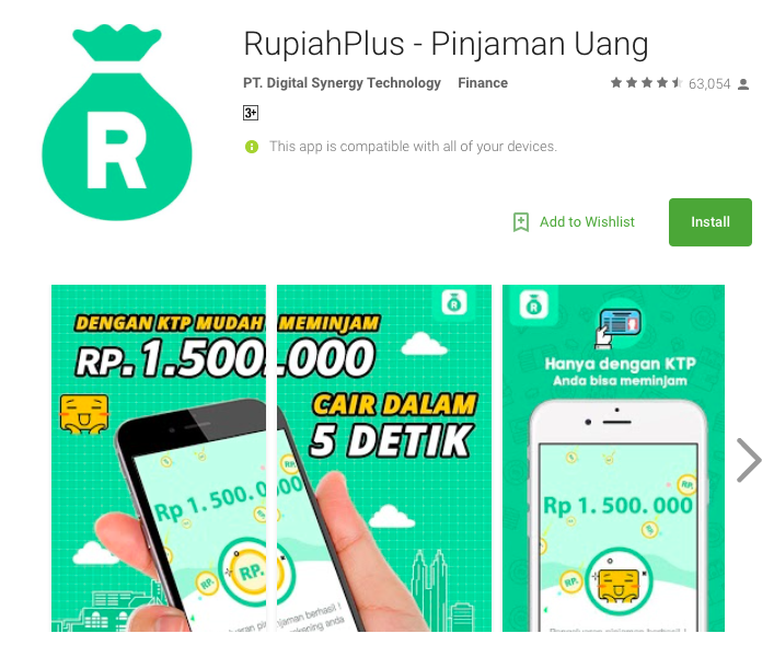 Fintech Loan Indonesia - RupiahPlus