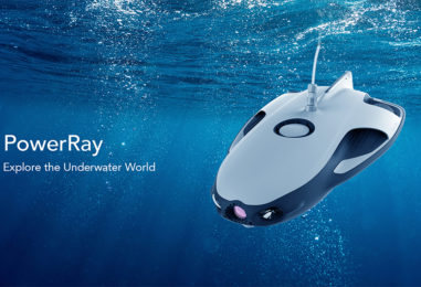 Powerray, World's First Underwater Drone Launched in Singapore