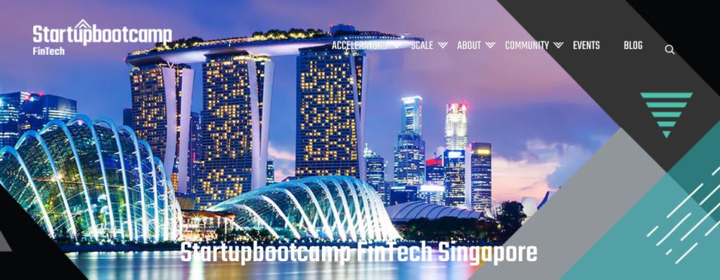 Startupbootcamp Fintech Singapore 2018