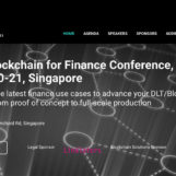 Blockchain for Finance Conference Returns to Singapore