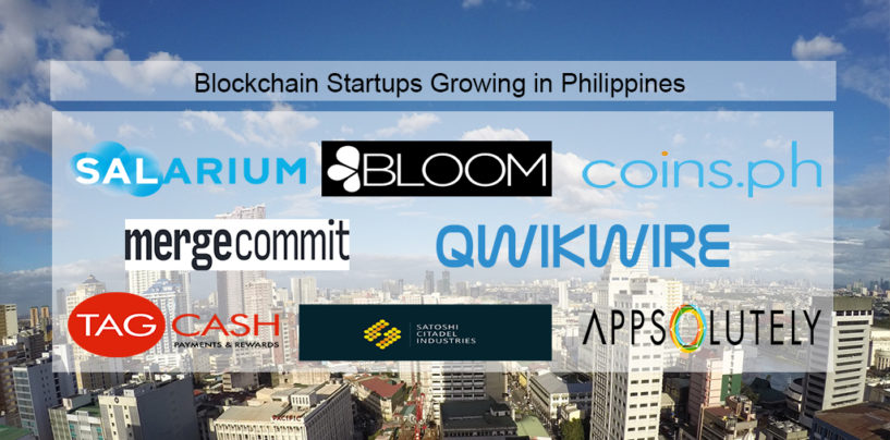 Blockchain Startups Growing in Philippines