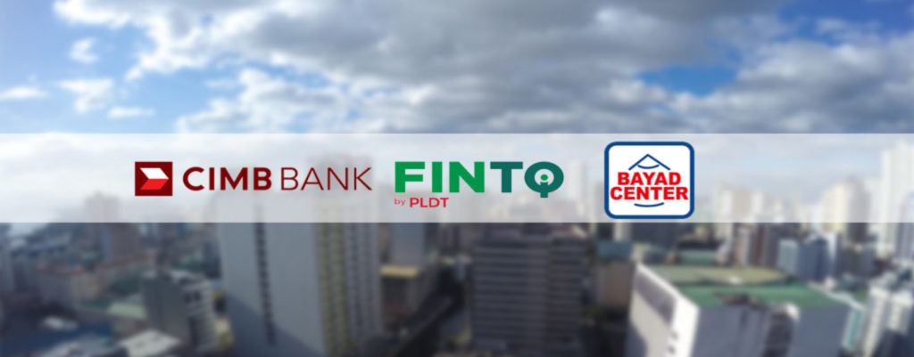 CIMB partners with Philippines' Leading Fintech Player FINTQ and Bayad Center