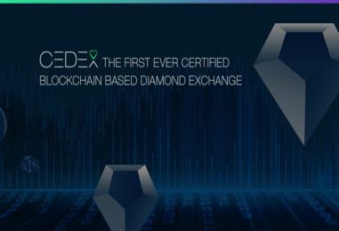 Decentralized Diamond Exchange CEDEX Launches Token Pre-Sale