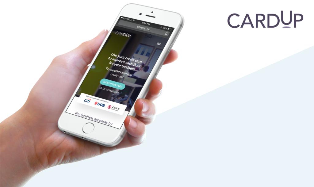 cardup app  - cardup app 1024x610 - CardUp Secures Funding | Fintech Singapore