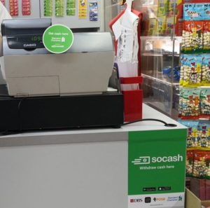 soCash store  - soCash store 300x297 - Singapore Optimises National Cash Infrastructure By Turning Stores Into ATMs
