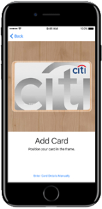 Citi Apple Pay Singapore Hong Kong Card