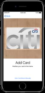 Citi Apple Pay Singapore Hong Kong Card