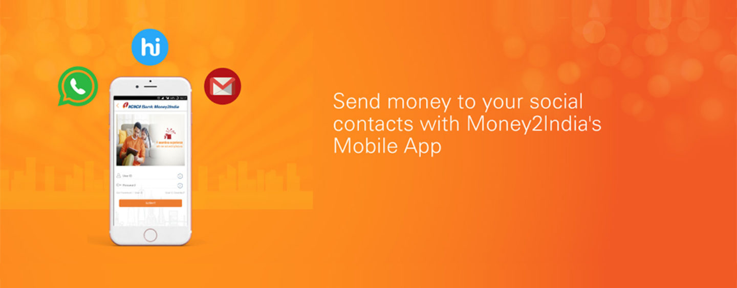 ICICI Bank enables Non Resident Indians to send Money through Social Media