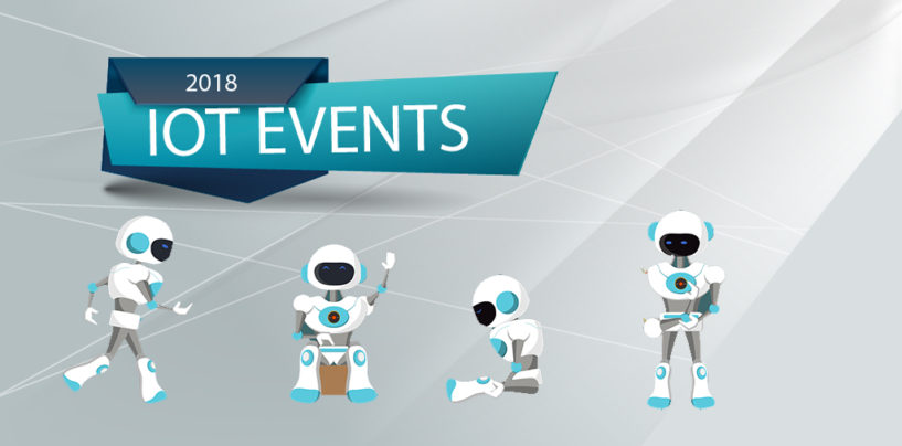 IoT Events in Asia to Attend until End of 2018
